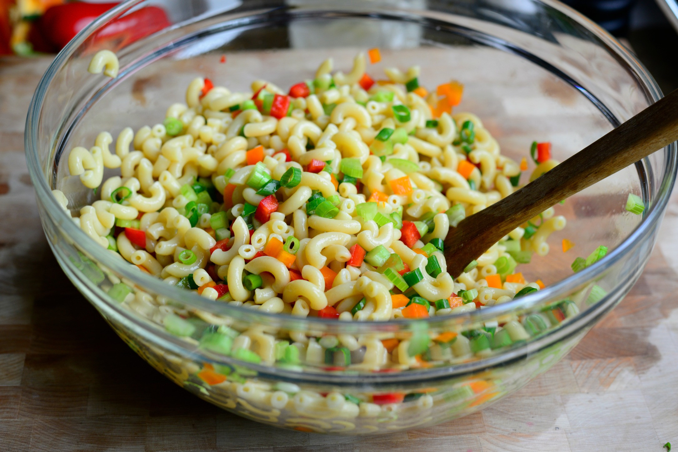 Homemade Macaroni Salad  Simply Scratch Classic Macaroni Salad with Homemade