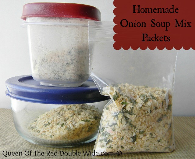 Homemade Onion Soup Mix  Don't it – Make it