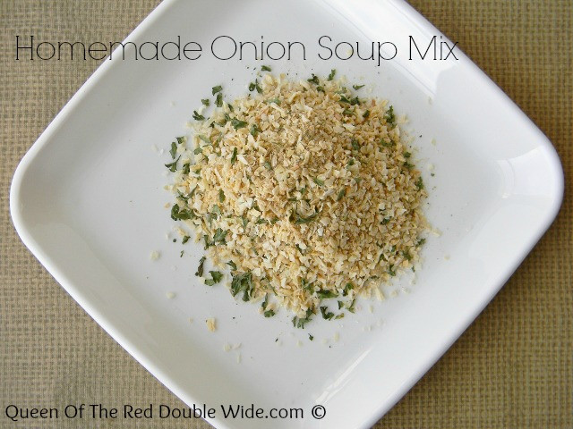 Homemade Onion Soup Mix  Homemade ion Soup Mix Packets