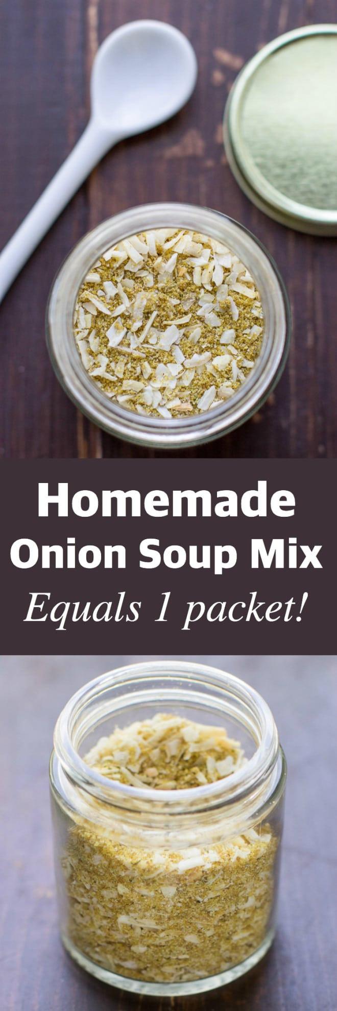Homemade Onion Soup Mix  Homemade ion Soup Mix