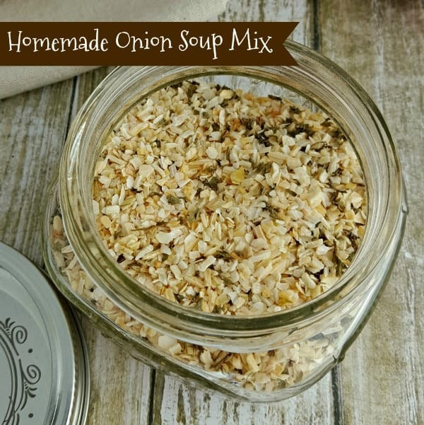 Homemade Onion Soup Mix  Homemade ion Soup Mix Recipe Replace the Packets