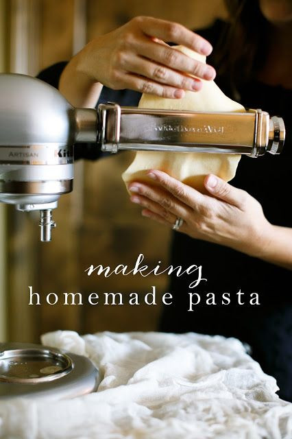 Homemade Pasta Kitchenaid  How to Make Homemade Pasta in Minutes Recipe