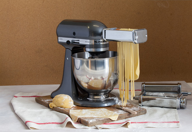 Homemade Pasta Kitchenaid  Learn how to make pasta dough Recipe