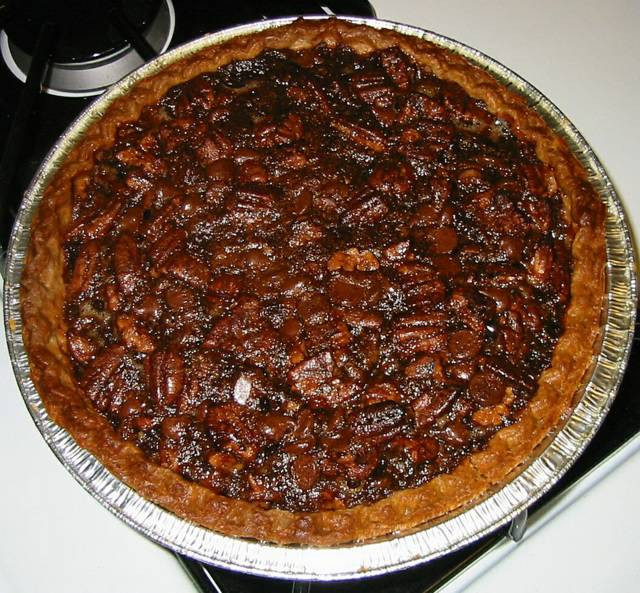 Homemade Pecan Pie  Eric s Chocolate Pecan Pie Test Recipes Cooking For
