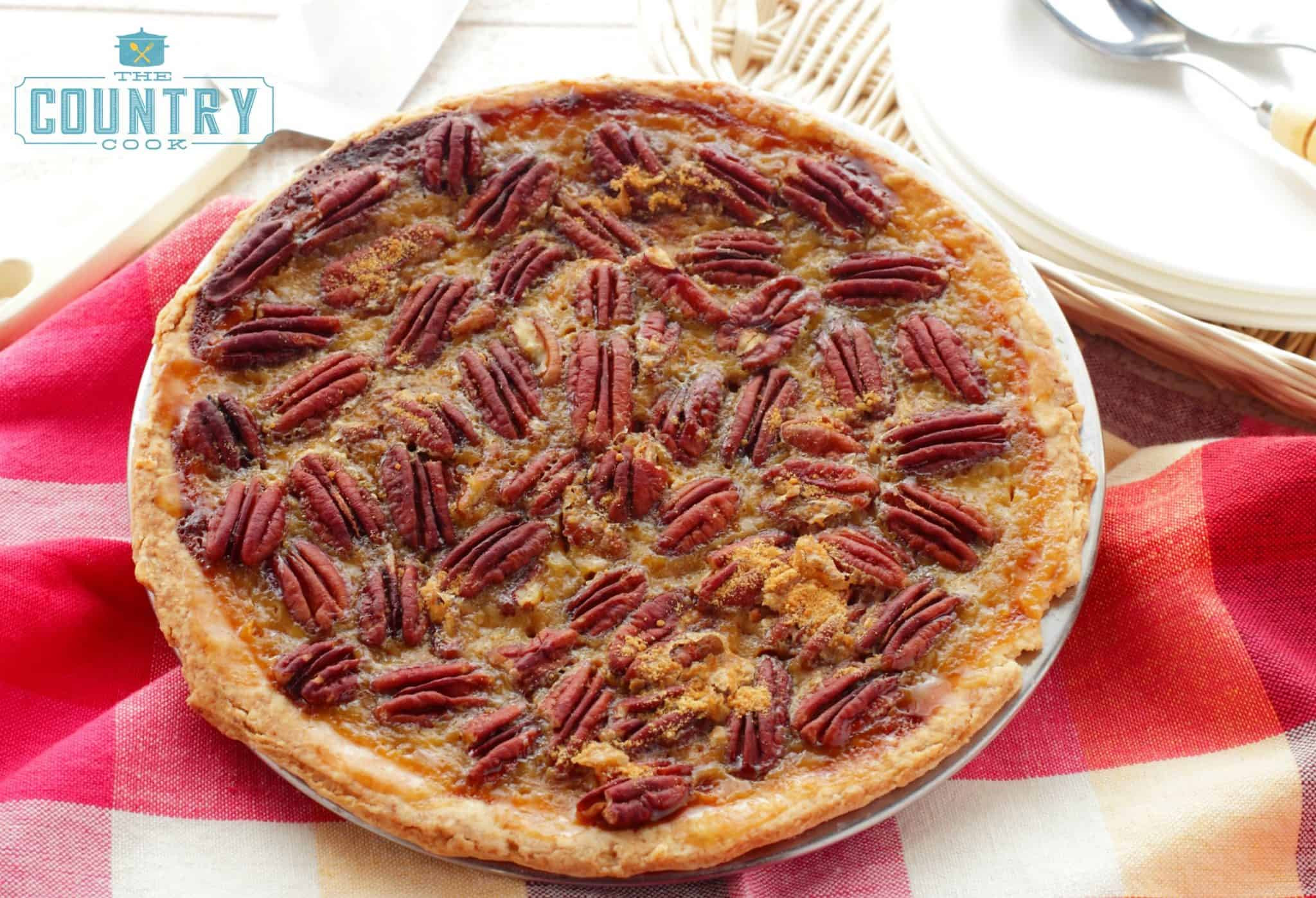 Homemade Pecan Pie  Southern Pecan Pie The Country Cook
