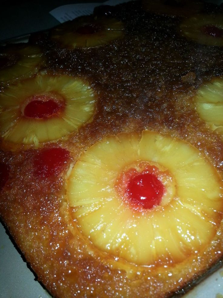 Homemade Pineapple Upside Down Cake  13 best images about Deserts on Pinterest