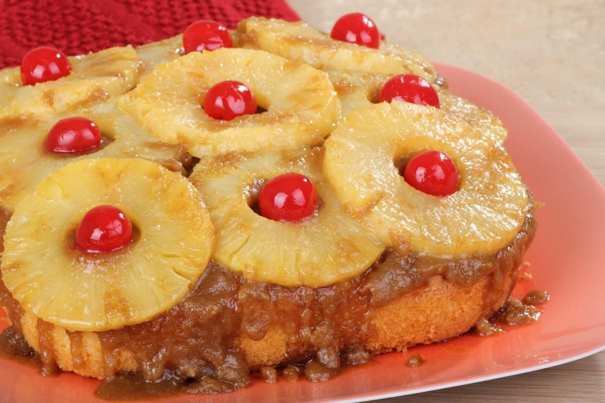 Homemade Pineapple Upside Down Cake  Easy Pineapple Upside Down Cake KitchMe