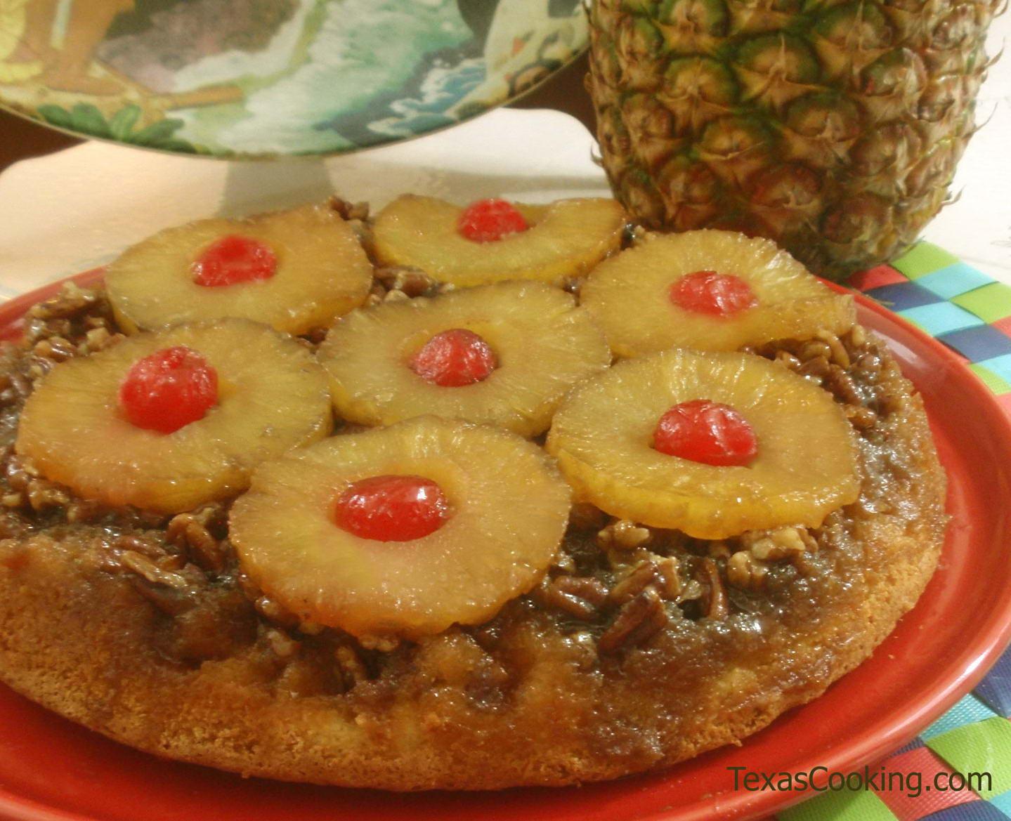 Homemade Pineapple Upside Down Cake  Pineapple Upside Down Cake Recipe