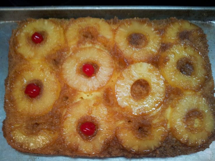 Homemade Pineapple Upside Down Cake  171 best images about Favorite Recipes on Pinterest