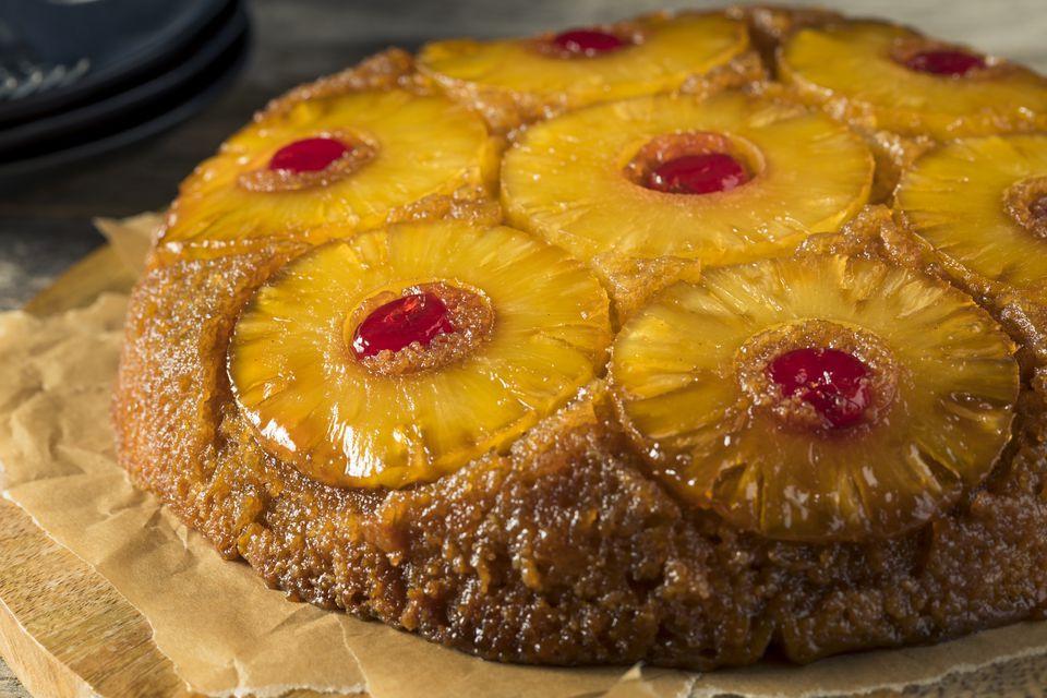 Homemade Pineapple Upside Down Cake  Vegan Pineapple Upside Down Dump Cake Recipe