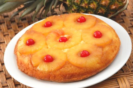 Homemade Pineapple Upside Down Cake  National Foods Recipes Easy Pineapple Upside Down Cake Recipe