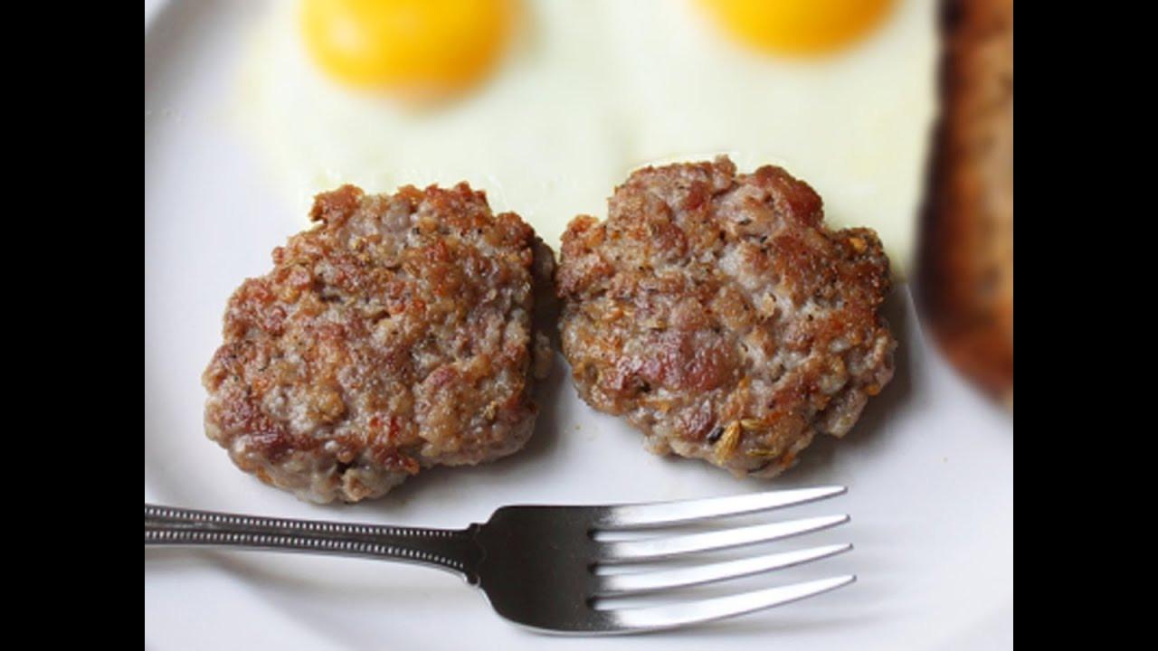 Homemade Pork Sausage Recipe  Breakfast Sausage Patties Homemade Pork Breakfast