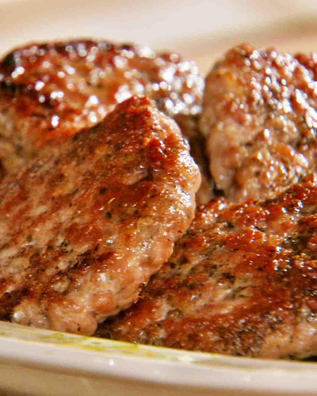 Homemade Pork Sausage  Simple Homemade Sausage Patties Recipe — Dishmaps