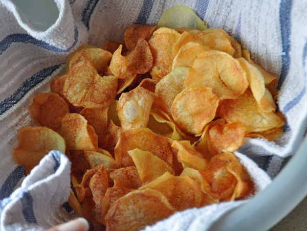 Homemade Potato Chips  How To Make Potato Chips