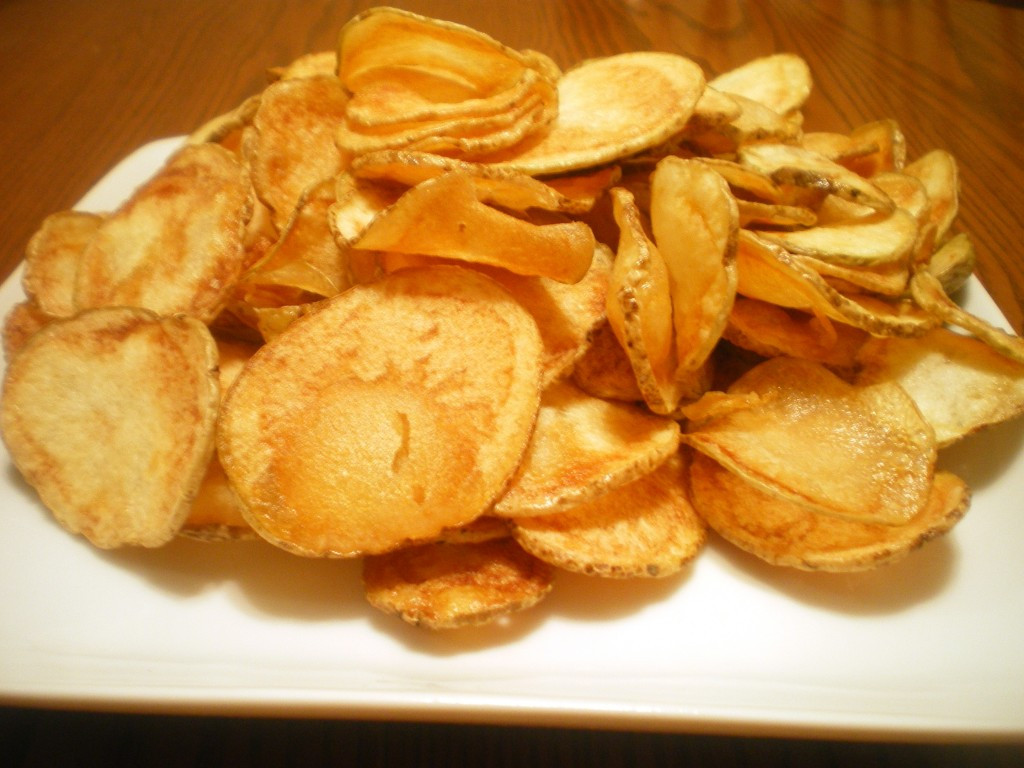 Homemade Potato Chips  How to Make Your Own Chips Crackers and Pretzels