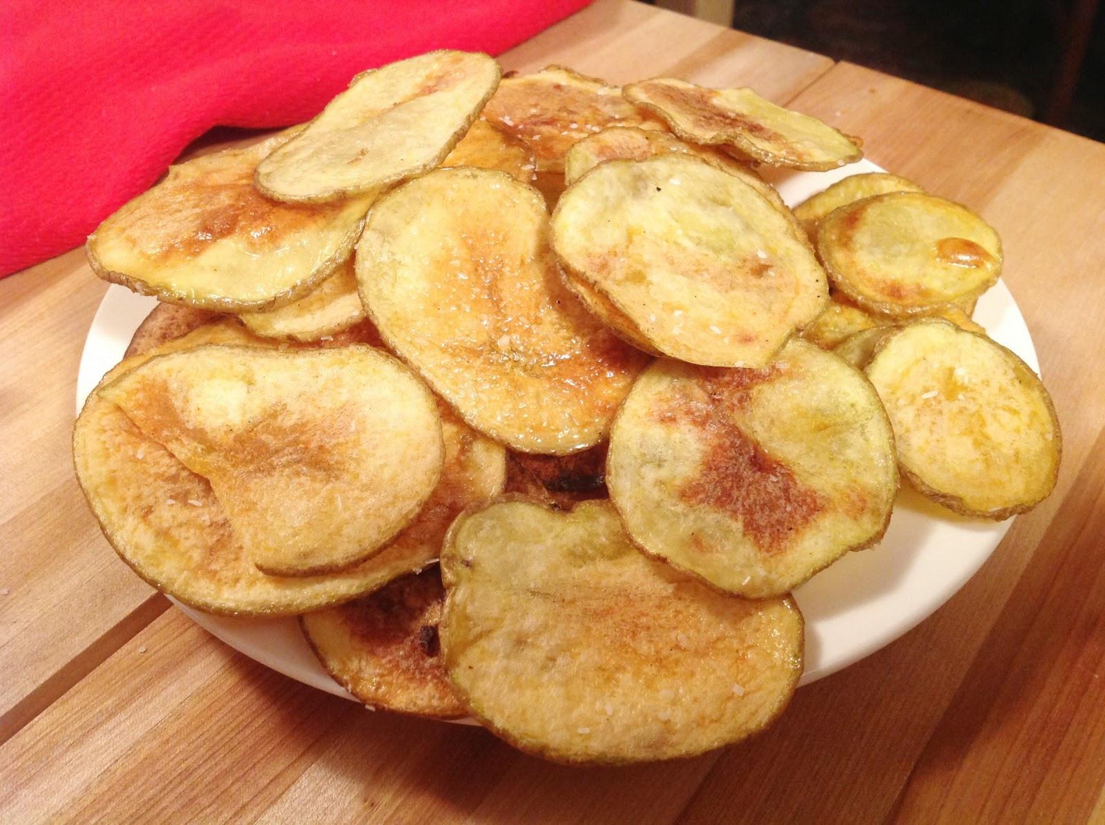 Homemade Potato Chips  Homemade Baked Potato Chips