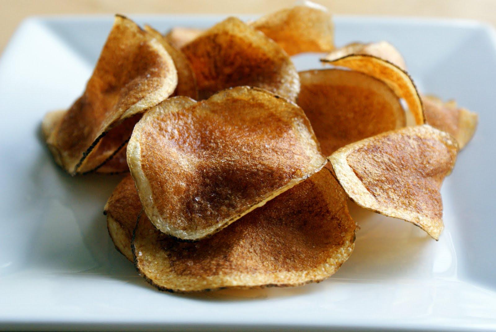 Homemade Potato Chips  The Merlin Menu Homemade Potato Chips