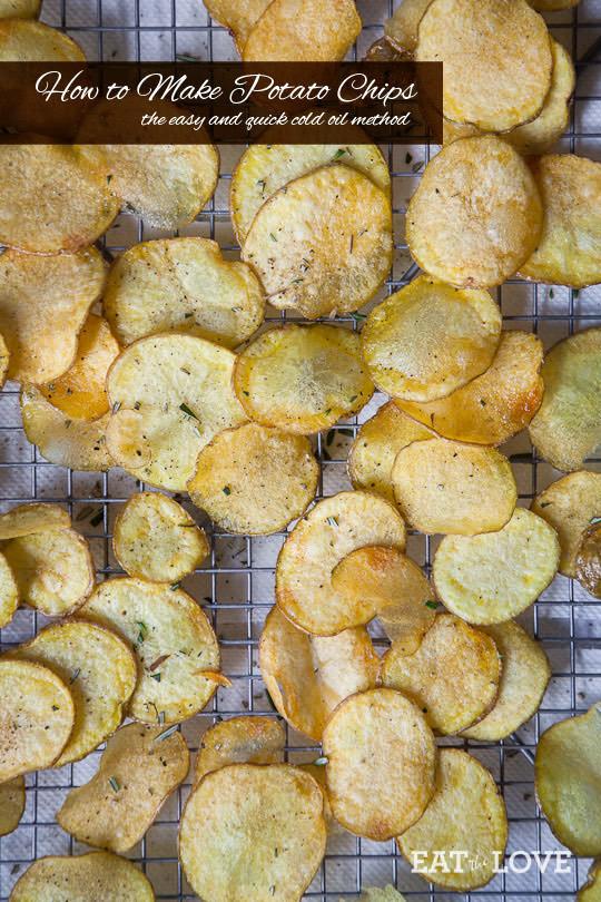 Homemade Potato Chips  How to Make Potato Chips Homemade Potato Chips