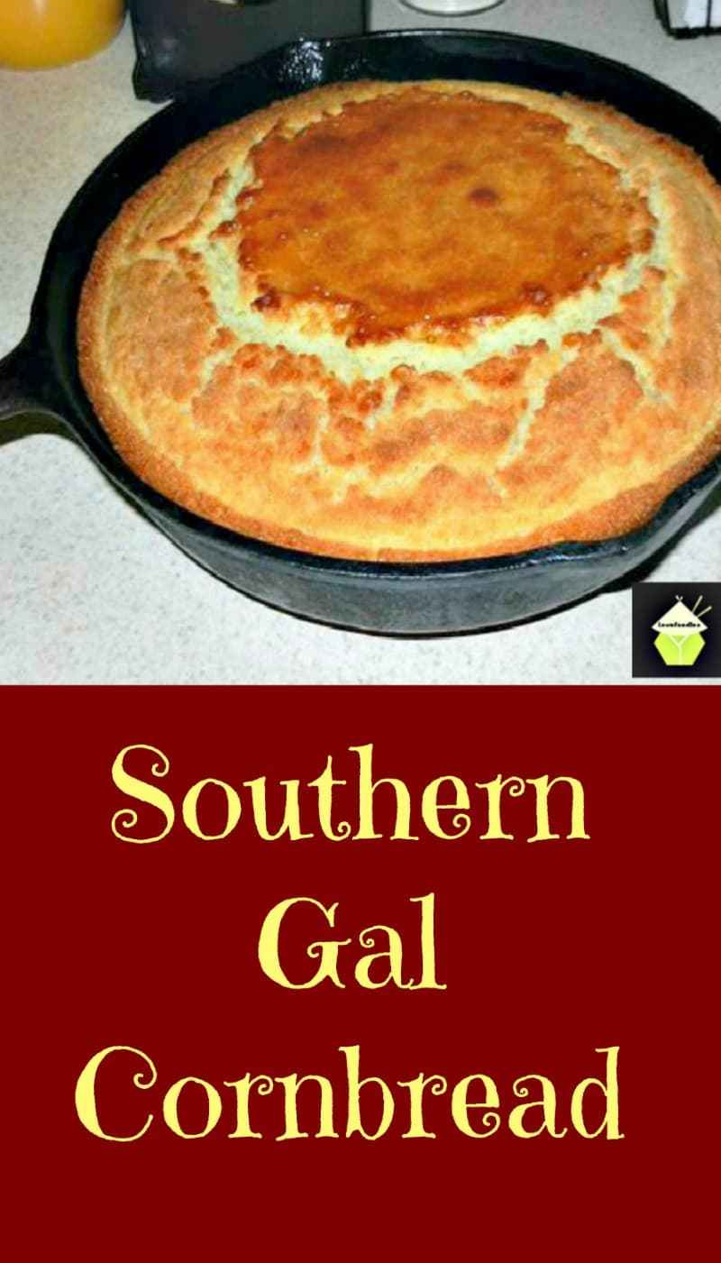 Homemade Southern Cornbread  Vikki s Homemade Southern Gal Cornbread – Lovefoo s