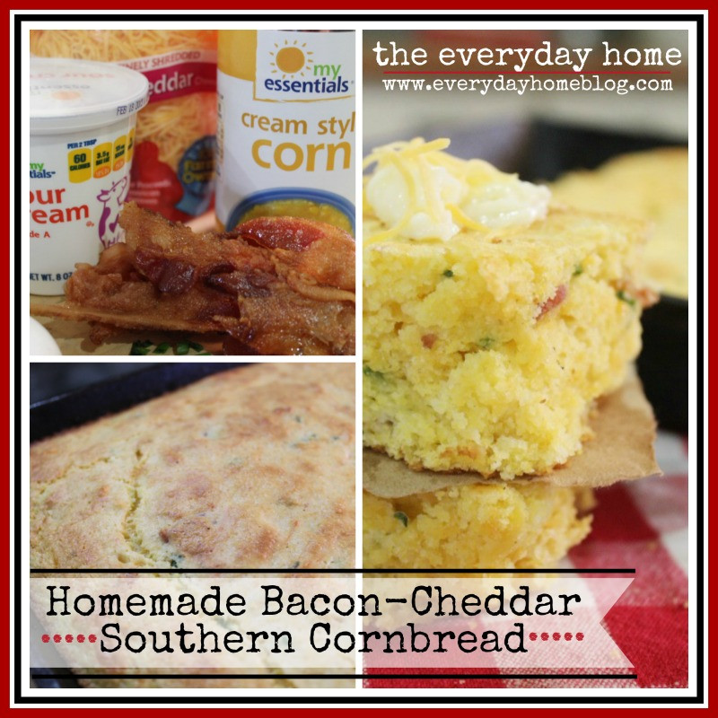Homemade Southern Cornbread  Homemade Southern Cornbread The Everyday Home