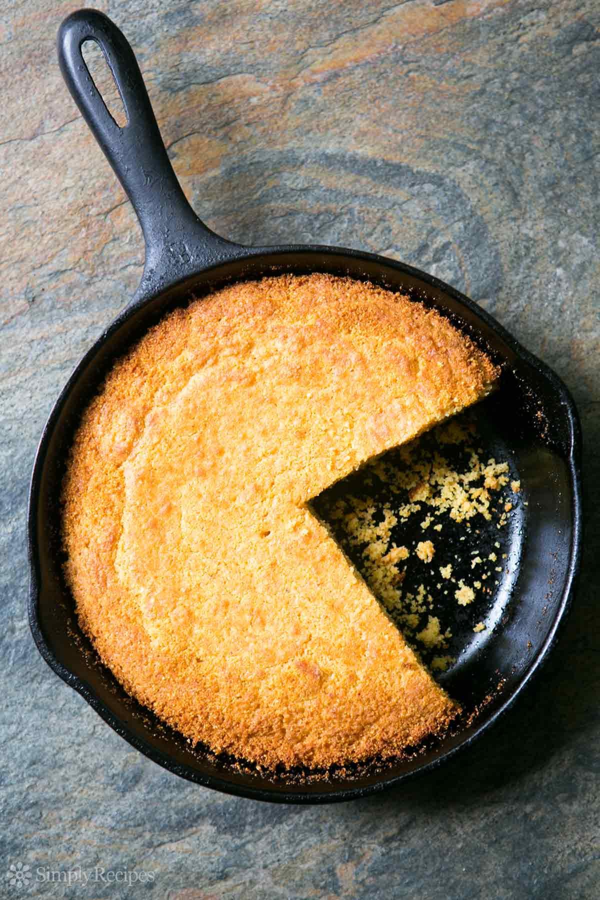 Homemade Southern Cornbread  Cornbread Recipe Savory Southern Style
