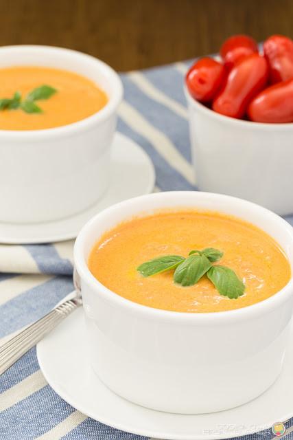 Homemade Tomato Basil Soup  FAN FAVORITES 2015