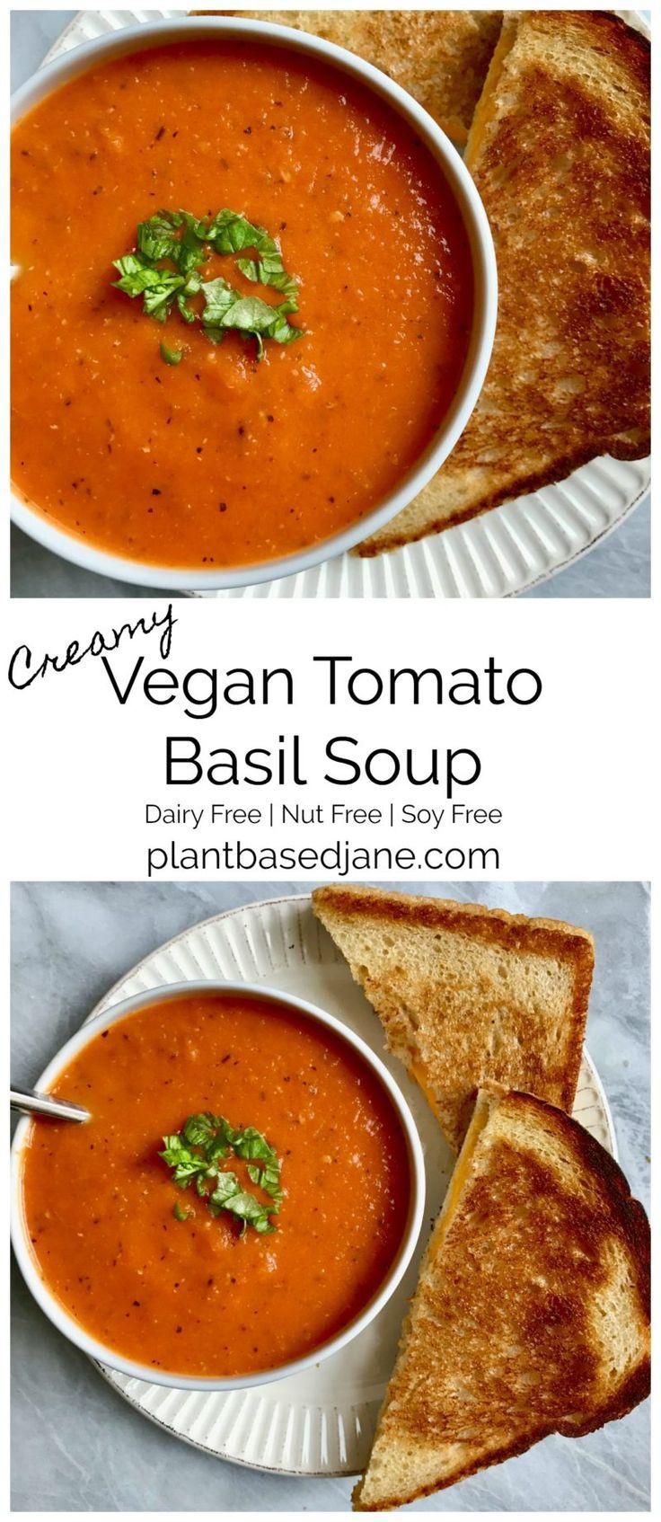 Homemade Tomato Basil Soup  Best 25 Homemade tomato soups ideas on Pinterest