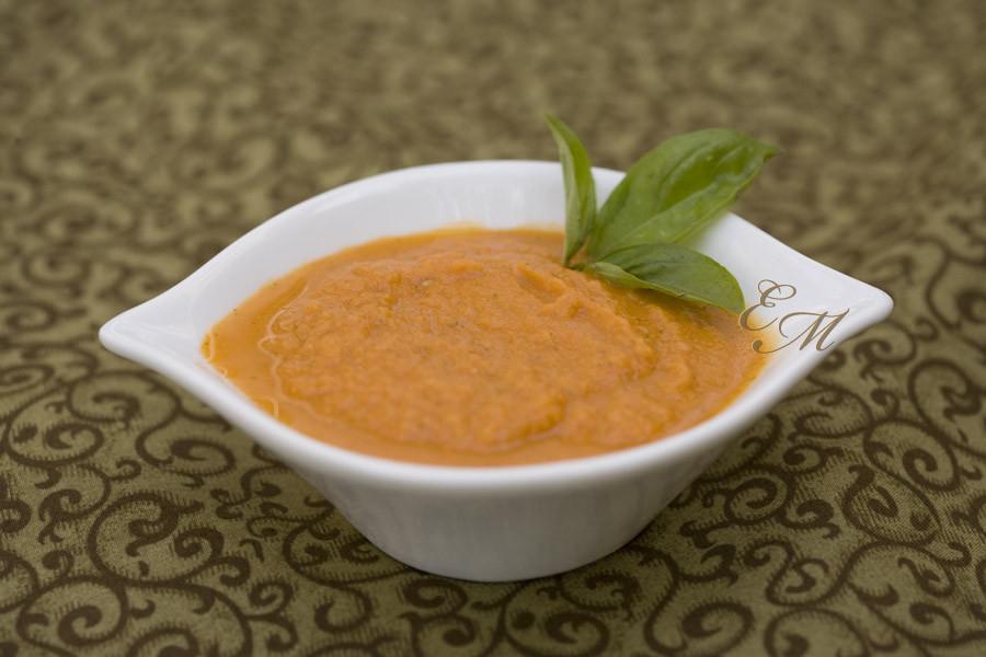 Homemade Tomato Basil Soup  Homemade Tomato Basil Soup