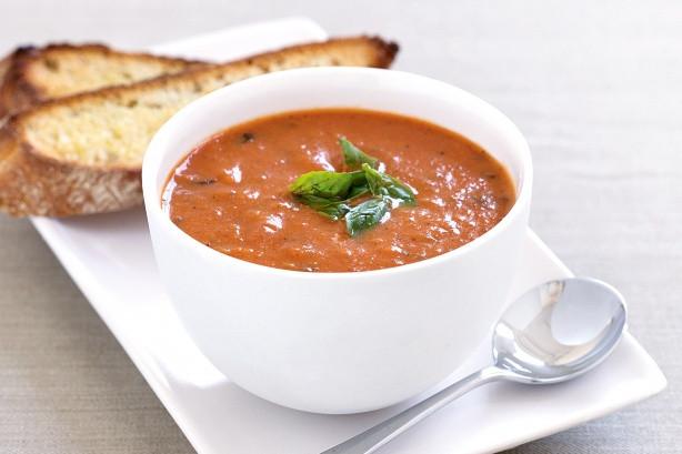 Homemade Tomato Basil Soup  Homemade Tomato and Basil Soup