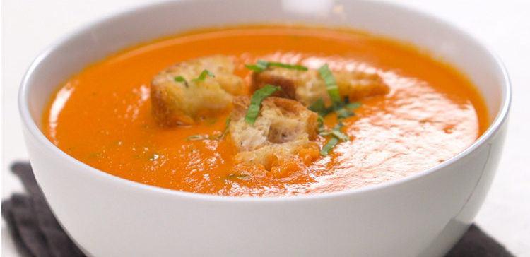 Homemade Tomato Basil Soup  Tomato Basil Soup Recipe & Video