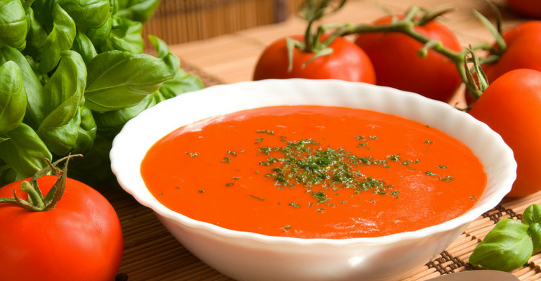 Homemade Tomato Basil Soup  Tomato Basil Soup Ditch The Can This Easy Homemade
