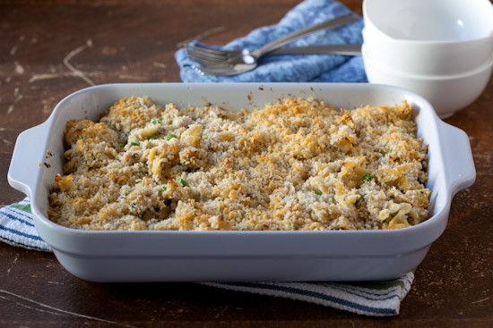 Homemade Tuna Casserole  From Scratch Tuna Noodle Casserole Recipe without Canned Soup