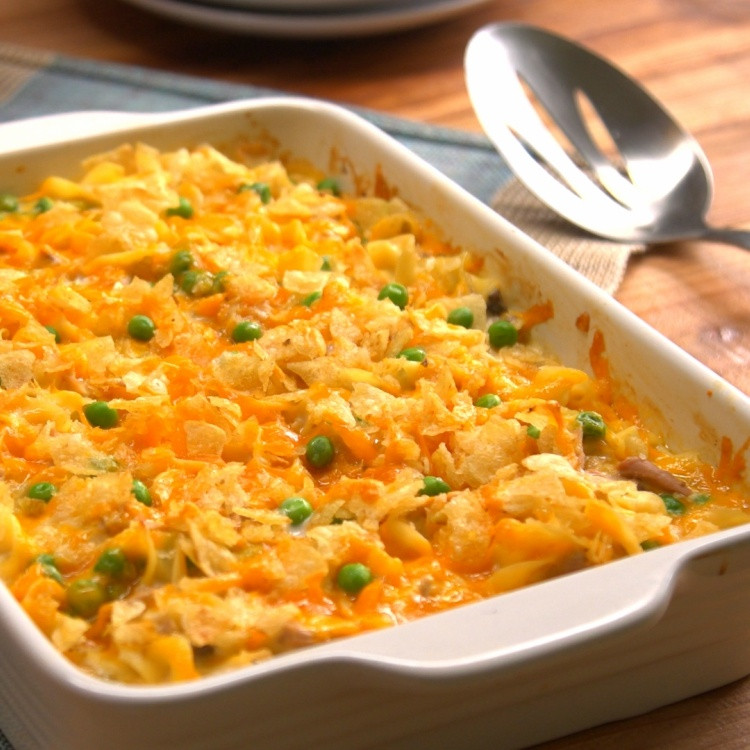 Homemade Tuna Casserole  Easy Tuna Noodle Casserole Recipe & Video