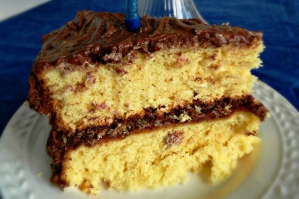 Homemade Yellow Cake  Homemade Yellow Cake And Variations Recipe Food
