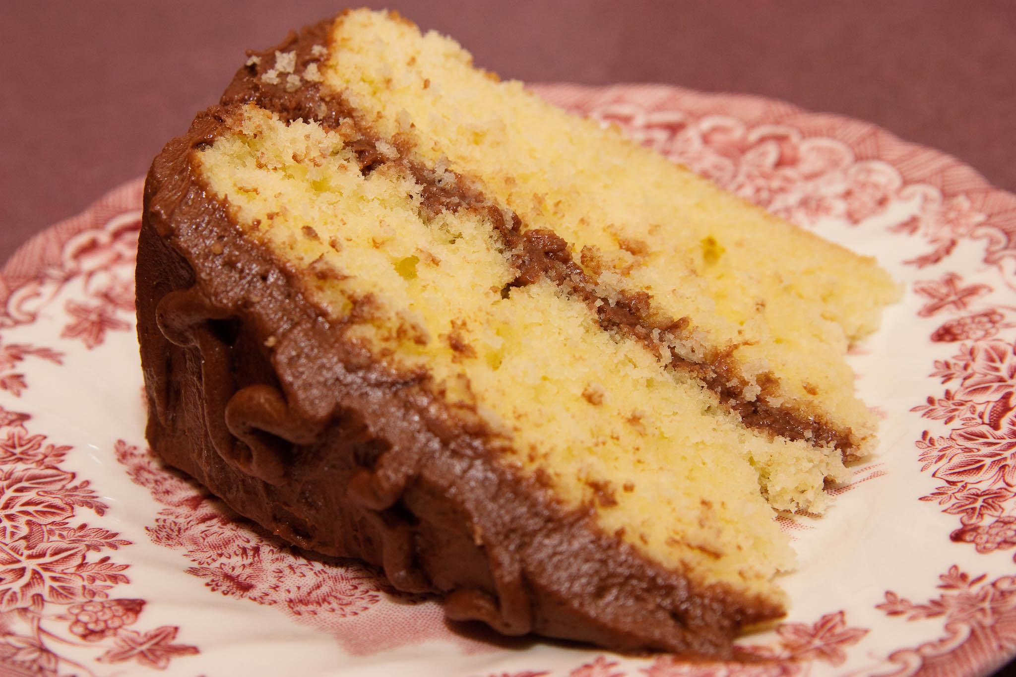 Homemade Yellow Cake  The Homemade Kitchen