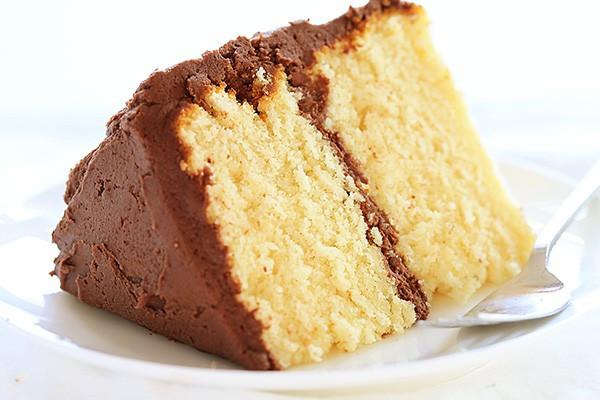 Homemade Yellow Cake  homemade yellow cake mix i am baker