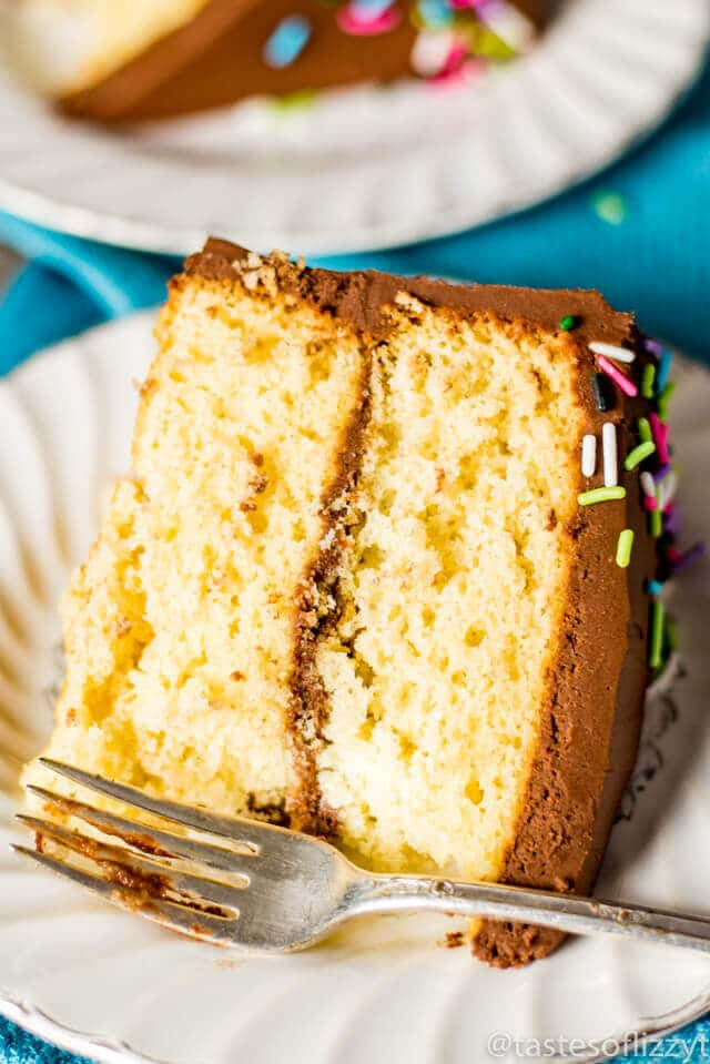 Homemade Yellow Cake  Homemade Yellow Cake Recipe How to Make From Scratch