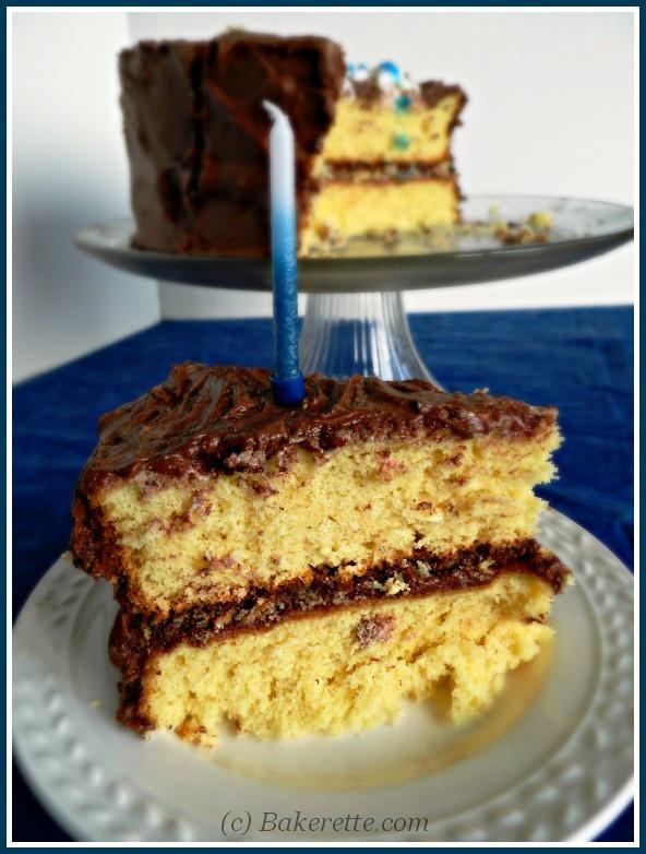 Homemade Yellow Cake  Homemade Yellow Cake Bakerette