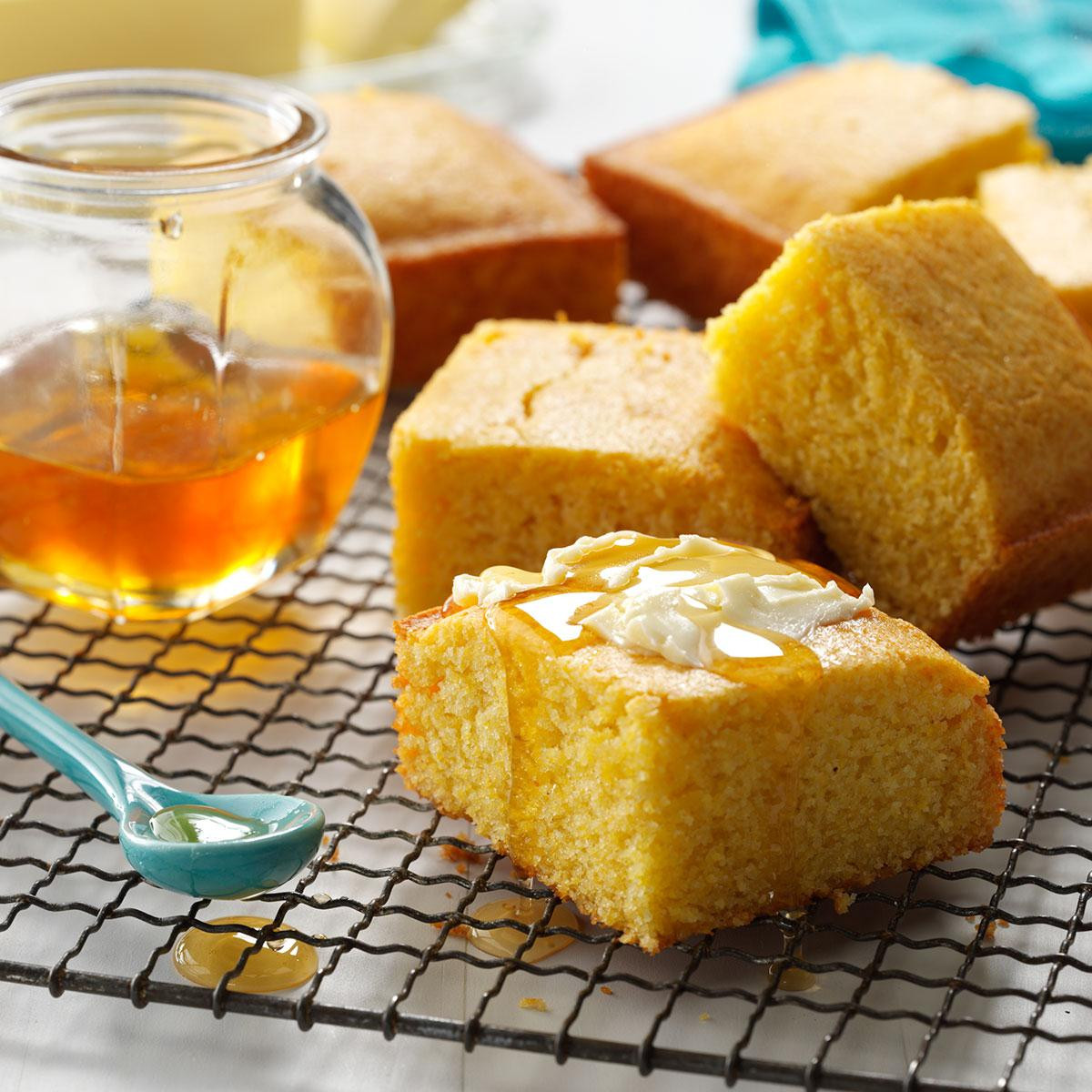 Honey Cornbread Recipe  Family Recipes and Books Club Recipe of the Month Honey