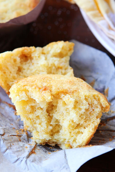 Honey Cornbread Recipe  Sweet Honey & Jalapeño Cornbread Muffins