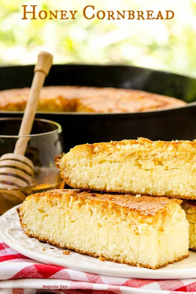 Honey Cornbread Recipe  Sweet Honey Cornbread Recipe — Dishmaps
