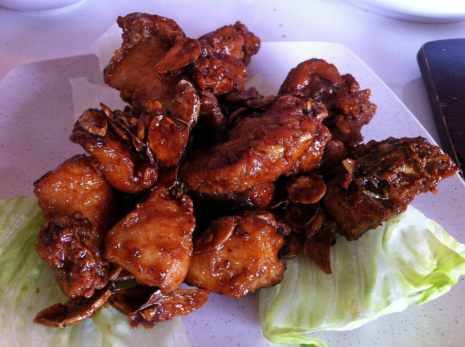 Honey Fried Chicken  Foo FC Two Chefs Eating Place 双厨菜馆 Sin Ming