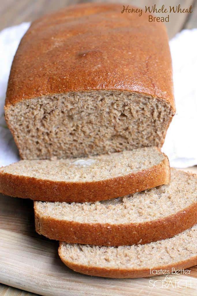 Honey Whole Wheat Bread Recipe  Honey Whole Wheat Bread Tastes Better From Scratch