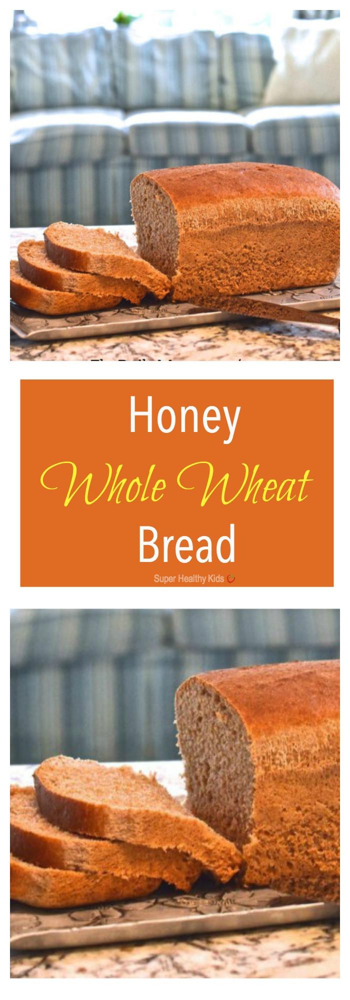 Honey Whole Wheat Bread Recipe  Honey Whole Wheat Bread Recipe