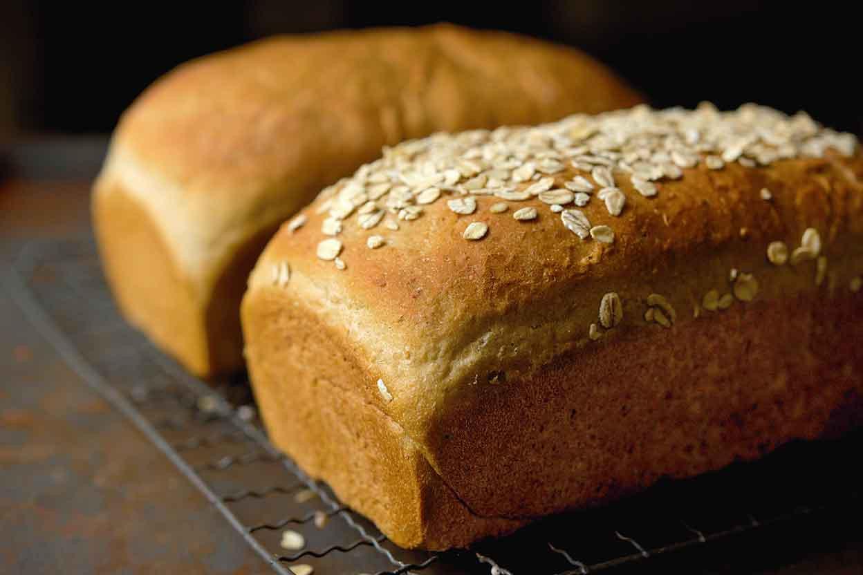 Honey Whole Wheat Bread Recipe  Vermont Whole Wheat Oatmeal Honey Bread Recipe