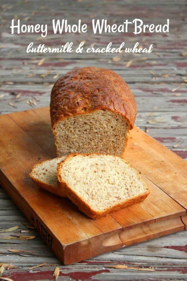 Honey Whole Wheat Bread Recipe  Honey Whole Wheat Bread Recipe Cracked Wheat