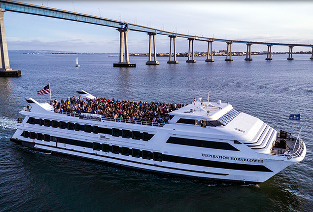 Hornblower Dinner Cruise  San Diego Dining Cruises Boat Tours & Private Charter