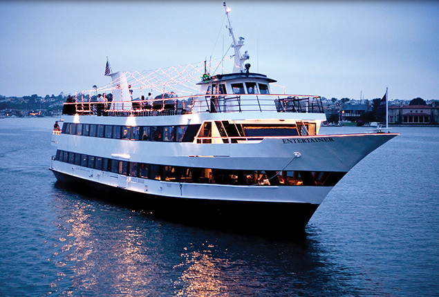 Hornblower Dinner Cruise  San Diego Christmas Eve and Christmas Day Dining Guide 2016
