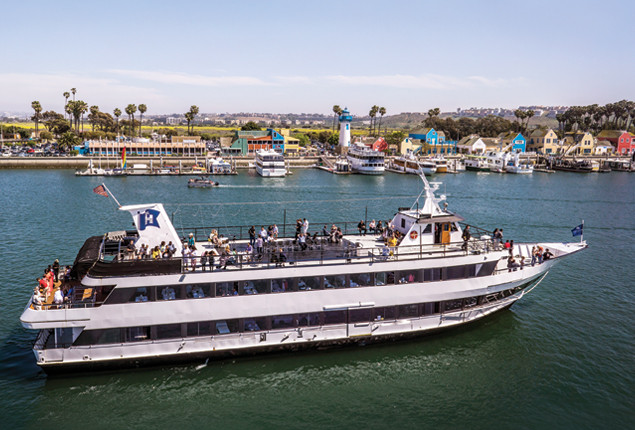 Hornblower Dinner Cruise  Marina del Rey Dining Cruises & Private Charter