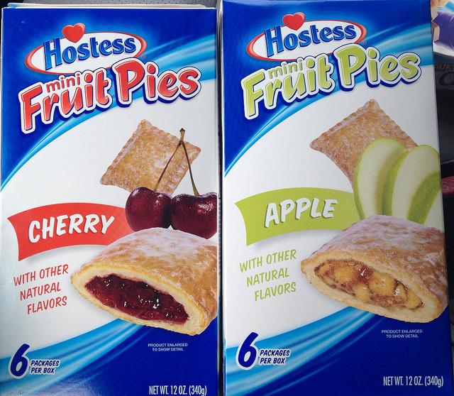 Hostess Fruit Pies  HOSTESS MINI FRUIT PIES MULTIPACKS